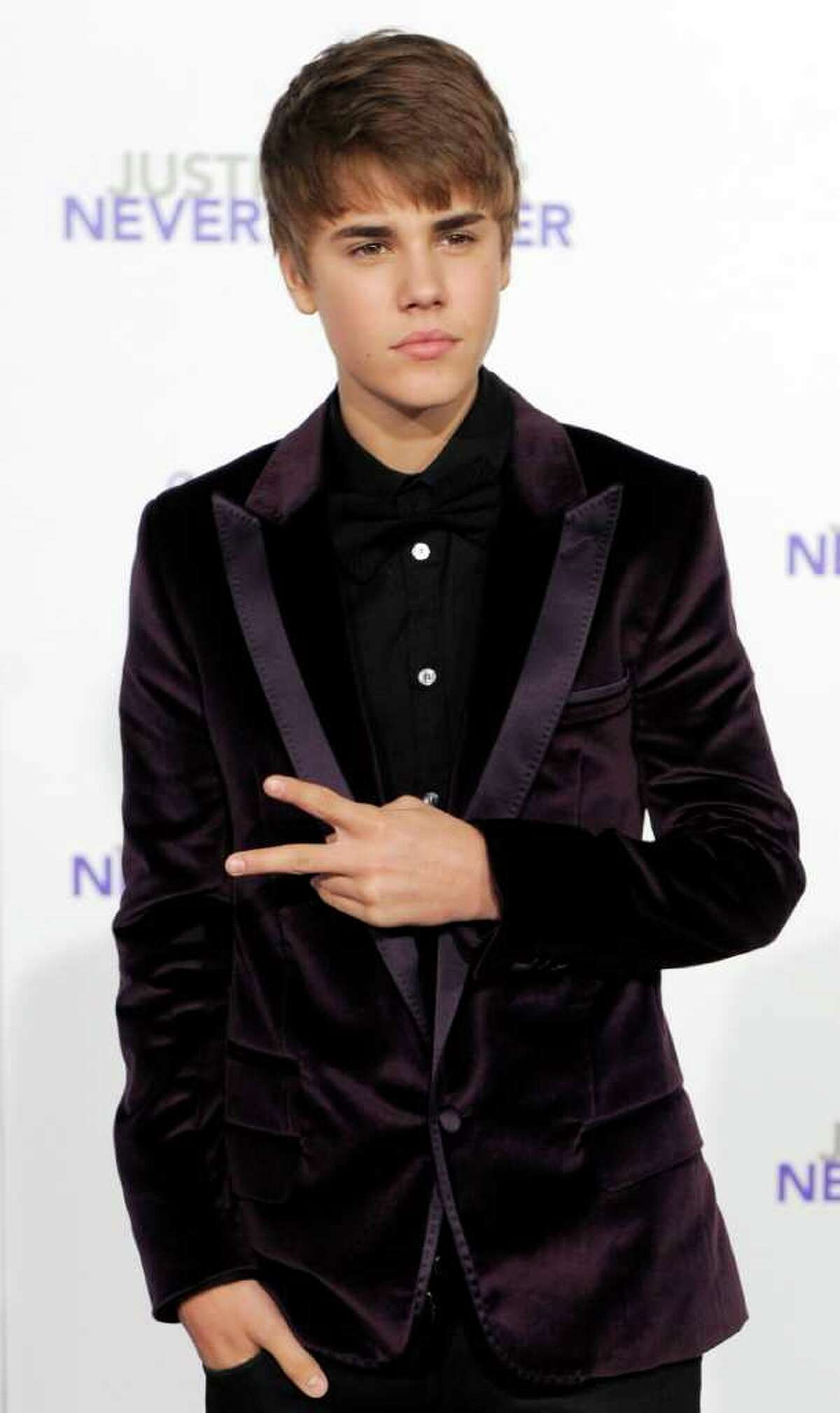Justin Bieber, subject of the documentary film