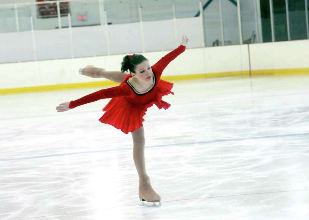 Pippa Leigh 13 Of Greenwich Competed In The Well Balanced Intermediate Freeskate