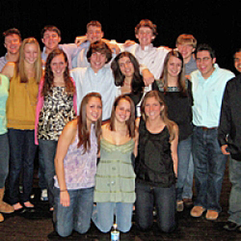 A cappella Too, a group from Fairfield Ludlowe High School, will be among those performing this weekend at Tomlison Middle School. Photo: Contributed Photo / Fairfield Citizen
