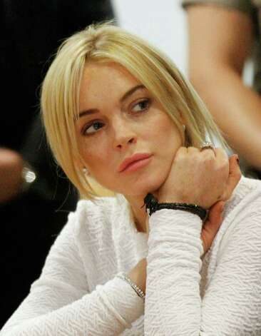 LOS ANGELES, CA - FEBRUARY 09:  Actress Lindsay Lohan during her arraignment for a felony count of grand theft on February 9, 2011 in Los Angeles, California. Lohan was charged with a felony count of grand theft for allegedly stealing a $2,500 necklace from a jewelry store in Venice. Photo: Pool