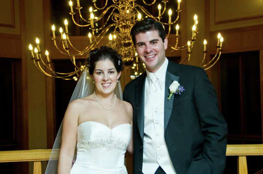 Katherine Marie Quell and Michael A. Tarczali Jr. were married on Nov. 20 at the Egan Chapel at St. Ignatius of Loyola in Fairfield. Photo: Contributed Photo / Fairfield Citizen contributed