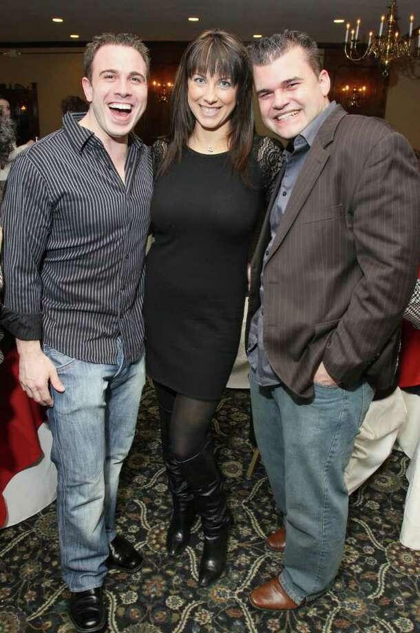 From left: Lucas Singleton, Jen Rodgers and Adam Ferguson. (Joe Putrock / Special to the Times Union) Photo: Joe Putrock / Joe Putrock