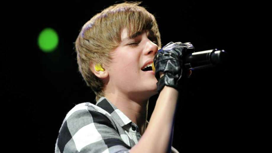 Justin Bieber performs in 2010 at Madison Square Garden. Photo: Bryan Bedder, Getty Images / 2010 Getty Images
