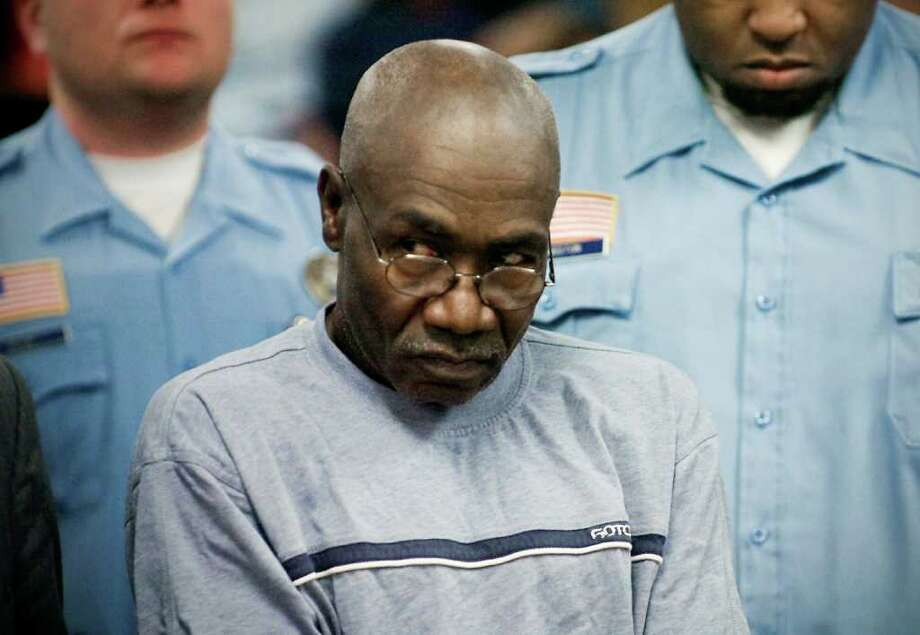 "Gilbert ""Tony"" Orlando is arraigned in Superior Court at Norwalk in Norwalk, Conn. on Tuesday June 15, 2010.  Orlando is charged with shooting to death his former wife Enid Dickens and her mother Rona Knight in Norwalk on Monday June 14. Photo: Kathleen O'Rourke, ST / Stamford Advocate"