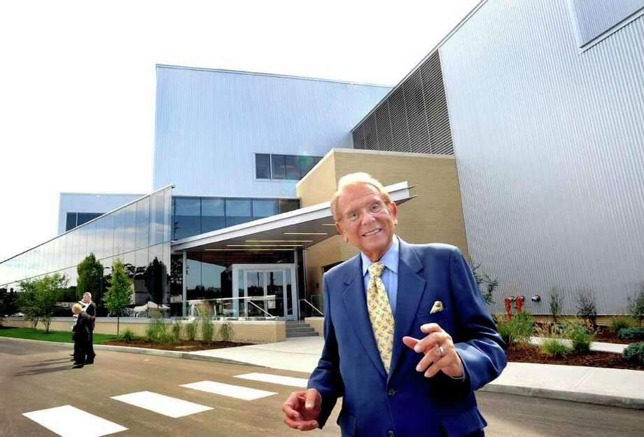 Al Mann,Chairman and CEO of Mannkind Corp. is photographed outside the newly dedicated building in Danbury in this Sept. 2008 file photo. Photo: File Photo/ Michael Duffy, File Photo / The News-Times File Photo