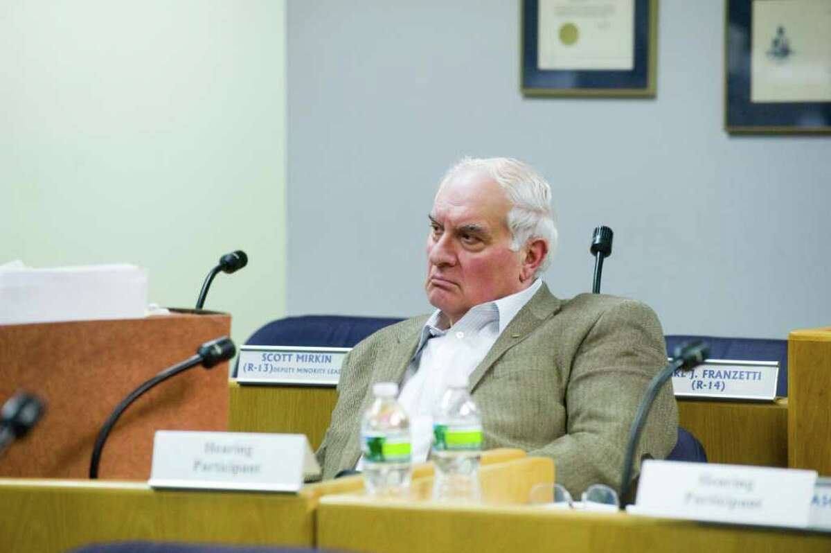 The Board of Ethics holds its second hearing in the complaint city human resources generalist Tania Barnes filed against Republican Board of Finance Chairman Joe Tarzia at the Government Center in Stamford, Conn., Monday, January 10, 2011.