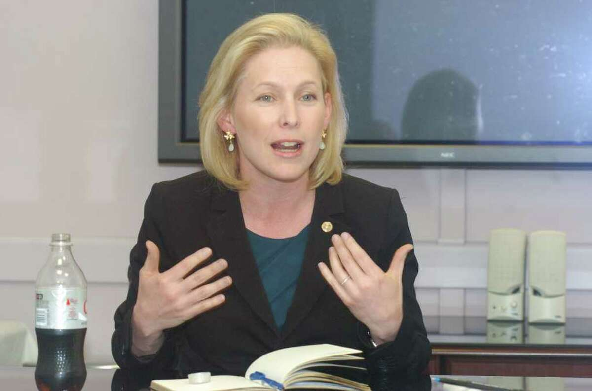U.S. Sen. Kirsten Gillibrand says family farms in Saratoga, Rensselaer and Washington counties need disaster aid after damage from heavy snow and ice storms this winter. She has asked for the designation from the U.S. Department of Agriculture.