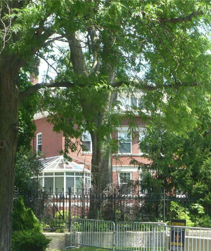 The Obama family home, Chicago. (Photo by Michael Schuman)