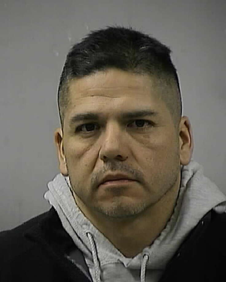 San Antonio police officer Roland Alvarado, 43, is accused of driving while intoxicated early Friday, when he crashed into a parked vehicle on the Northeast Side.