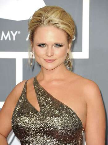 LOS ANGELES, CA - FEBRUARY 13:  Singer Miranda Lambert arrives at The 53rd Annual GRAMMY Awards held at Staples Center on February 13, 2011 in Los Angeles, California.  (Photo by Jason Merritt/Getty Images) *** Local Caption *** Miranda Lambert Photo: Jason Merritt, Getty Images / 2011 Getty Images