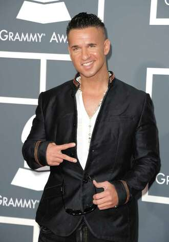 "LOS ANGELES, CA - FEBRUARY 13:  TV personality Michael ""The Situation"" Sorrentino arrives at The 53rd Annual GRAMMY Awards held at Staples Center on February 13, 2011 in Los Angeles, California.  (Photo by Jason Merritt/Getty Images) *** Local Caption *** Michael Sorrentino Photo: Jason Merritt, Getty Images / 2011 Getty Images"