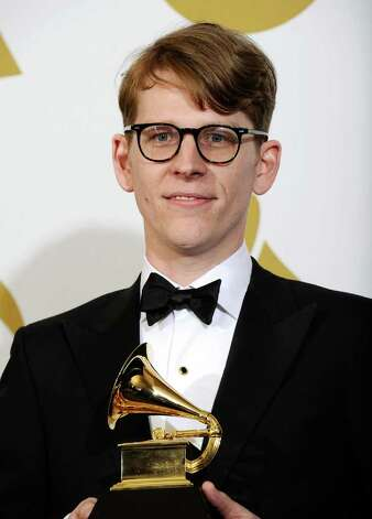 "LOS ANGELES, CA - FEBRUARY 13:  Art Director Michael Carney winner of the Best Recording Package award for ""Brothers"" poses in the press room at The 53rd Annual GRAMMY Awards held at Staples Center on February 13, 2011 in Los Angeles, California.  (Photo by Kevork Djansezian/Getty Images) *** Local Caption *** Michael Carney Photo: Kevork Djansezian, Getty Images / 2011 Getty Images"