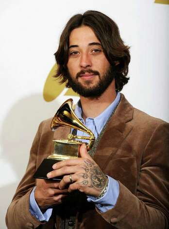 "LOS ANGELES, CA - FEBRUARY 13: Songwriter Ryan Bingham, winner of the Best Song Written For Motion Picture, Television Or Other Visual Media award for ""'The Weary Kind' (From Crazy Heart)""  poses in the press room at The 53rd Annual GRAMMY Awards held at Staples Center on February 13, 2011 in Los Angeles, California.  (Photo by Kevork Djansezian/Getty Images) *** Local Caption *** Ryan Bingham Photo: Kevork Djansezian, Getty Images / 2011 Getty Images"