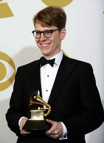 "LOS ANGELES, CA - FEBRUARY 13:  Art Director Michael Carney, winner of the Best Recording Package award for ""Brothers"" poses in the press room at The 53rd Annual GRAMMY Awards held at Staples Center on February 13, 2011 in Los Angeles, California.  (Photo by Kevork Djansezian/Getty Images) *** Local Caption *** Michael Carney Photo: Kevork Djansezian, Getty Images / 2011 Getty Images"