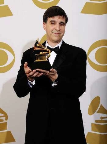 "LOS ANGELES, CA - FEBRUARY 13:  Musician Vince Mendoza accepts the Best Large Jazz Ensemble Album award on behalf of Metropole Orkest for ""54"" in the press room at The 53rd Annual GRAMMY Awards held at Staples Center on February 13, 2011 in Los Angeles, California.  (Photo by Kevork Djansezian/Getty Images) *** Local Caption *** Vince Mendoza Photo: Kevork Djansezian, Getty Images / 2011 Getty Images"