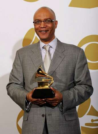 "LOS ANGELES, CA - FEBRUARY 13:  Composer Billy Childs, winner of the Best Instrumental Composition award for ""The Path Among The Trees"" poses in the press room at The 53rd Annual GRAMMY Awards held at Staples Center on February 13, 2011 in Los Angeles, California.  (Photo by Kevork Djansezian/Getty Images) *** Local Caption *** Billy Childs Photo: Kevork Djansezian, Getty Images / 2011 Getty Images"