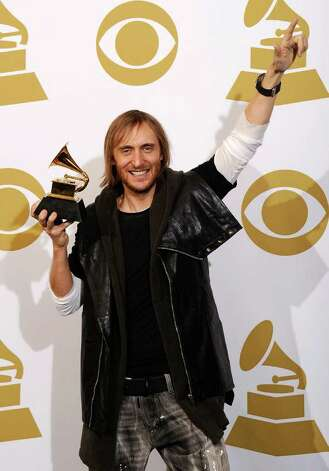 "LOS ANGELES, CA - FEBRUARY 13:  Remixer David Guetta, winner of the Best Remixed Recording, Non-Classical award for ""Revolver (David Guetta's One Love Club Remix)"" poses in the press room at The 53rd Annual GRAMMY Awards held at Staples Center on February 13, 2011 in Los Angeles, California.  (Photo by Kevork Djansezian/Getty Images) *** Local Caption *** David Guetta Photo: Kevork Djansezian, Getty Images / 2011 Getty Images"