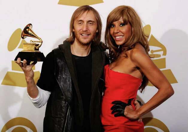 "LOS ANGELES, CA - FEBRUARY 13:  Remixer David Guetta (R), winner of the Best Remixed Recording, Non-Classical award for ""Revolver (David Guetta's One Love Club Remix)"" poses in the press room at The 53rd Annual GRAMMY Awards held at Staples Center on February 13, 2011 in Los Angeles, California.  (Photo by Kevork Djansezian/Getty Images) *** Local Caption *** David Guetta Photo: Kevork Djansezian, Getty Images / 2011 Getty Images"