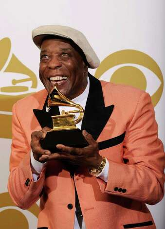 "LOS ANGELES, CA - FEBRUARY 13:  Musician Buddy Guy, winner of the Best Contemporary Blues Album award for ""Living Proof"" poses in the press room at The 53rd Annual GRAMMY Awards held at Staples Center on February 13, 2011 in Los Angeles, California.  (Photo by Kevork Djansezian/Getty Images) *** Local Caption *** Buddy Guy Photo: Kevork Djansezian, Getty Images / 2011 Getty Images"