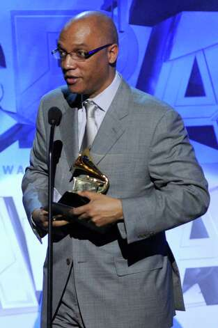 LOS ANGELES, CA - FEBRUARY 13:  Billy Childs accepts Best Instrumental Composition Award for The Billy Childs Ensemble onstage during The 53rd Annual GRAMMY Awards held at Staples Center on February 13, 2011 in Los Angeles, California.  (Photo by Kevin Winter/Getty Images) *** Local Caption *** Billy Childs Photo: Kevin Winter, Getty Images / 2011 Getty Images