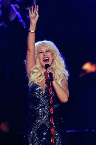 LOS ANGELES, CA - FEBRUARY 13:  Singer Christina Aguilera performs onstage during The 53rd Annual GRAMMY Awards held at Staples Center on February 13, 2011 in Los Angeles, California.  (Photo by Kevin Winter/Getty Images) *** Local Caption *** Christina Aguilera Photo: Kevin Winter, Getty Images / 2011 Getty Images