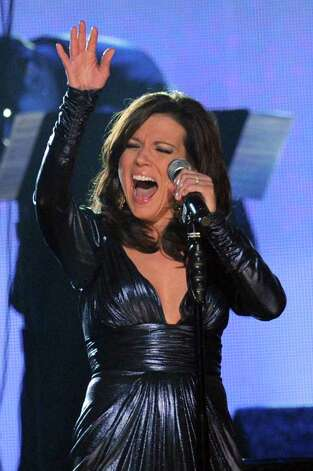 LOS ANGELES, CA - FEBRUARY 13:  Singer Martina McBride performs onstage during The 53rd Annual GRAMMY Awards held at Staples Center on February 13, 2011 in Los Angeles, California.  (Photo by Kevin Winter/Getty Images) *** Local Caption *** Martina McBride Photo: Kevin Winter, Getty Images / 2011 Getty Images