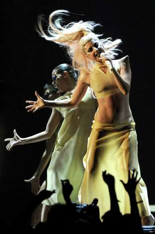 LOS ANGELES, CA - FEBRUARY 13:  Singer Lady GaGa performs onstage during The 53rd Annual GRAMMY Awards held at Staples Center on February 13, 2011 in Los Angeles, California.  (Photo by Kevin Winter/Getty Images) *** Local Caption *** Lady GaGa Photo: Kevin Winter, Getty Images / 2011 Getty Images