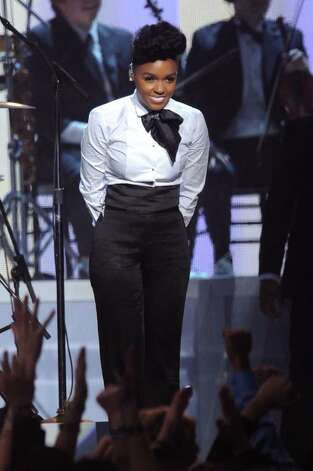 LOS ANGELES, CA - FEBRUARY 13:  Singer Janelle Monae performs onstage during The 53rd Annual GRAMMY Awards held at Staples Center on February 13, 2011 in Los Angeles, California.  (Photo by Kevin Winter/Getty Images) *** Local Caption *** Janelle Monae Photo: Kevin Winter, Getty Images / 2011 Getty Images