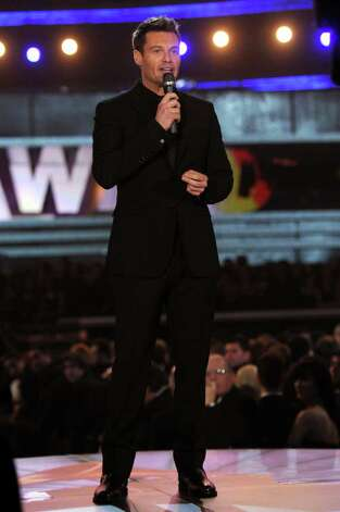 LOS ANGELES, CA - FEBRUARY 13:  Ryan Seacrest speaks onstage during The 53rd Annual GRAMMY Awards held at Staples Center on February 13, 2011 in Los Angeles, California.  (Photo by Kevin Winter/Getty Images) *** Local Caption *** Ryan Seacrest Photo: Kevin Winter, Getty Images / 2011 Getty Images