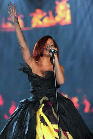 LOS ANGELES, CA - FEBRUARY 13:  Singer Rihanna performs onstage during The 53rd Annual GRAMMY Awards held at Staples Center on February 13, 2011 in Los Angeles, California.  (Photo by Kevin Winter/Getty Images) *** Local Caption *** Rihanna Photo: Kevin Winter, Getty Images / 2011 Getty Images