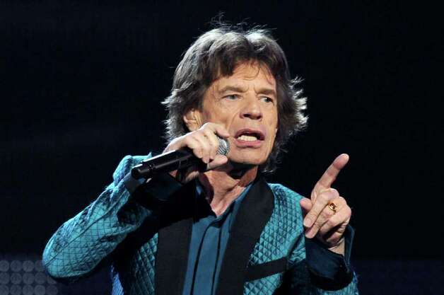 LOS ANGELES, CA - FEBRUARY 13:  Signer Mick Jagger performs onstage during The 53rd Annual GRAMMY Awards held at Staples Center on February 13, 2011 in Los Angeles, California.  (Photo by Kevin Winter/Getty Images) *** Local Caption *** Mick Jagger Photo: Kevin Winter, Getty Images / 2011 Getty Images