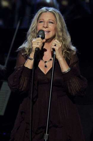 LOS ANGELES, CA - FEBRUARY 13:  Singer/actress Barbra Streisand performs onstage during The 53rd Annual GRAMMY Awards held at Staples Center on February 13, 2011 in Los Angeles, California.  (Photo by Kevin Winter/Getty Images) *** Local Caption *** Barbra Streisand Photo: Kevin Winter, Getty Images / 2011 Getty Images