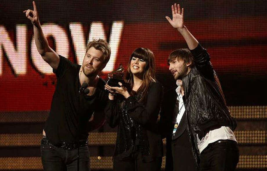 Lady Antebellum's five Grammy wins included song of the year and record of the year. ASSOCIATED PRESS