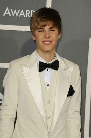 LOS ANGELES, CA - FEBRUARY 13:  Singer Justin Bieber arrives at The 53rd Annual GRAMMY Awards held at Staples Center on February 13, 2011 in Los Angeles, California.  (Photo by Jason Merritt/Getty Images) Photo: Jason Merritt, Staff / Getty Images North America