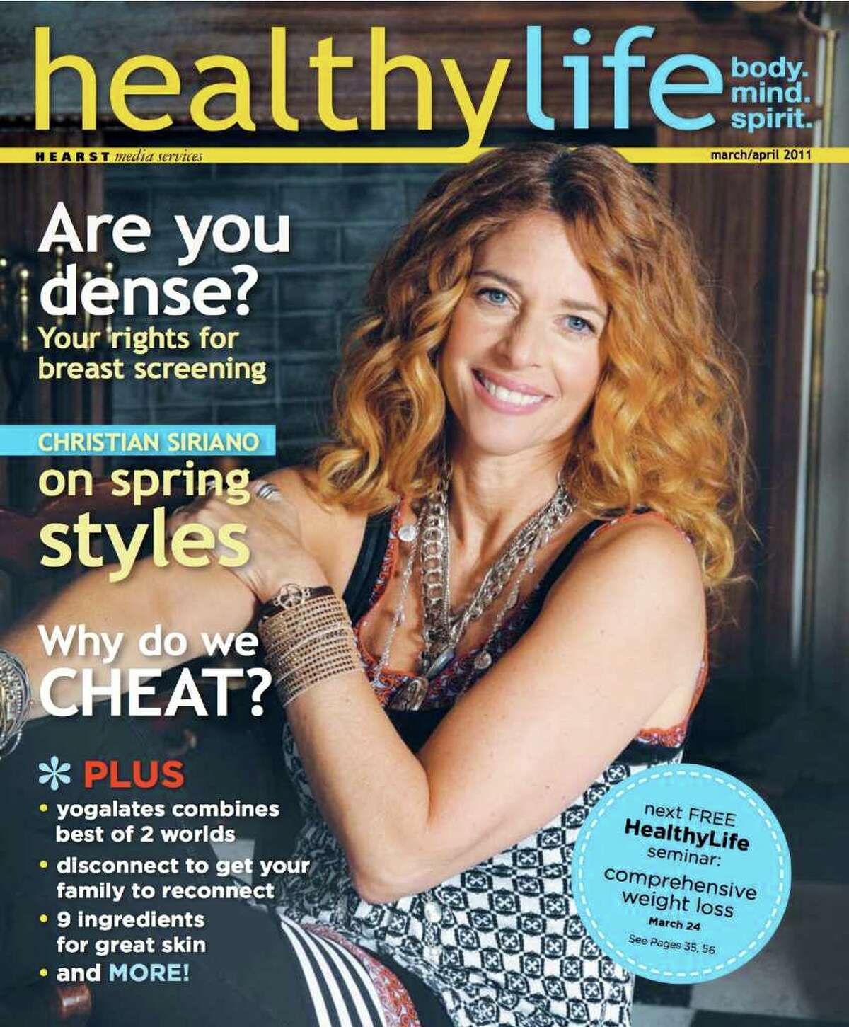 Check out this slideshow of behind the scenes photographs from HealthyLife's cover shoot and read the magazine online here: Healthylifect.com
