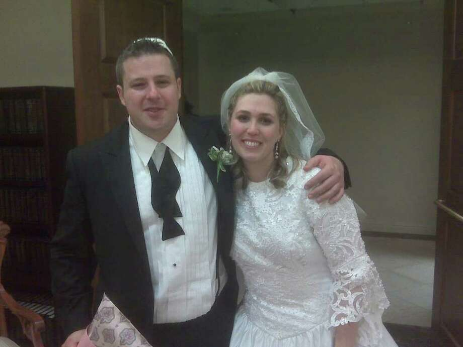 Joseph Stember and Danielle Masor who were married on Jan. 16, 2011 Photo: Contributed Photo / Westport News contributed