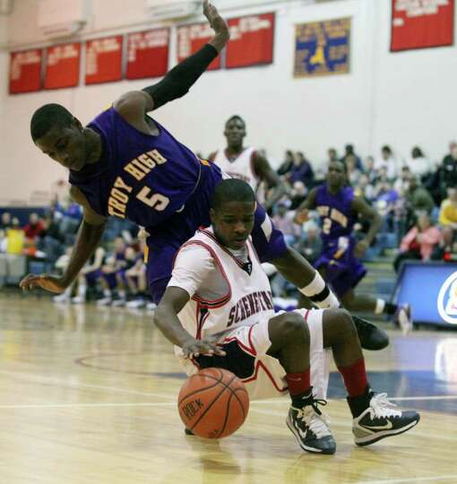 High school winter sports -- boys' basketball