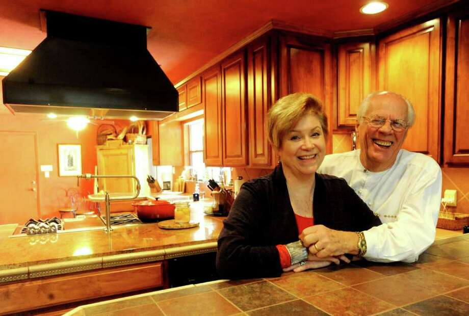 Ted and Anne Hanes spent six months remodeling their kitchen after they bought their Windcrest house six years ago. Photo: BILLY CALZADA, SAN ANTONIO EXPRESS-NEWS / gcalzada@express-news.net