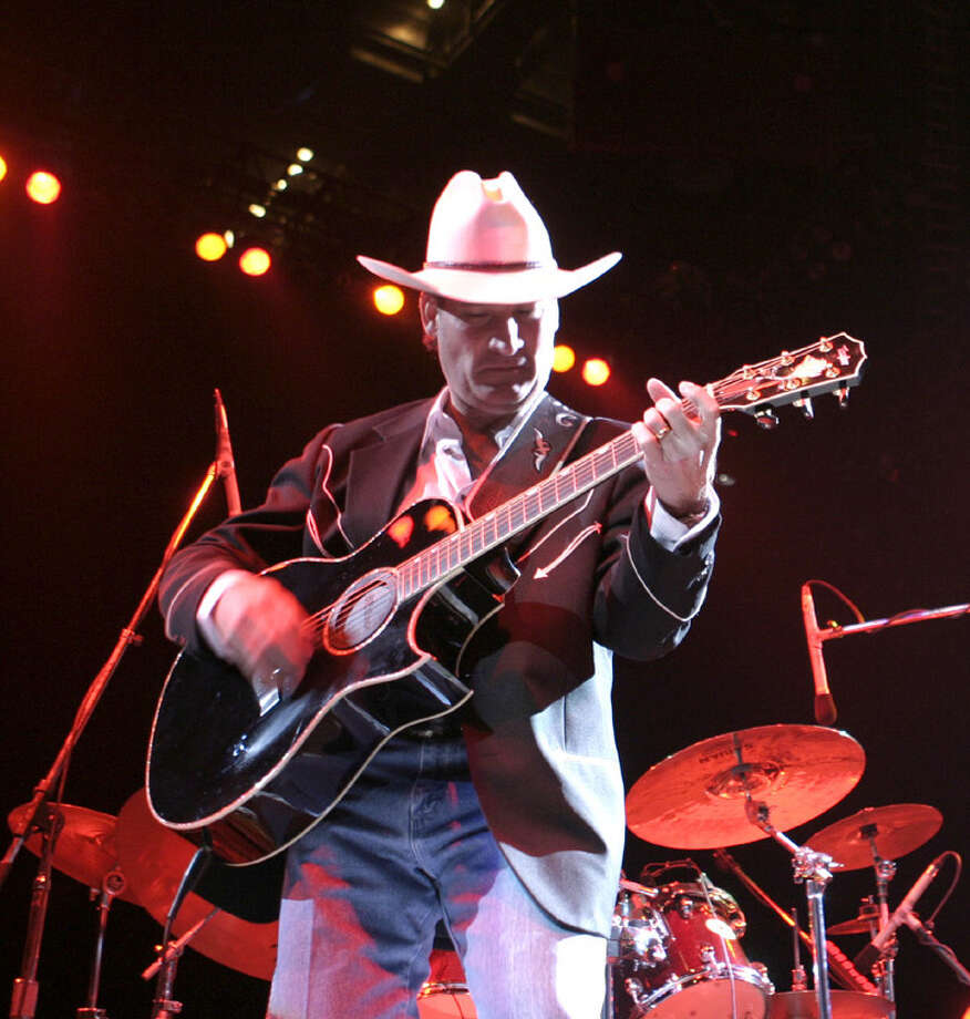 Rick Cavender performs at the Go Western Gala on 1/20/2007 at the AT&T Center. Littrell was the headline performer 30 years ago at the first Go Western Gala. This is #1 of 5 photos. names checked photo by leland a. outz