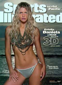 This is the cover of the Sports Illustrated 2000 Swimsuit issue,. featuring model Daniela Pestova. Photo: AP / SPORTS ILLUSTRATED