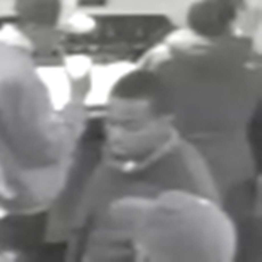 Shooting suspect appears in this surveillance video snapshot. (Courtesy of Colonie Police)