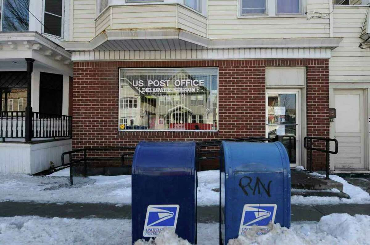 The Delaware Station post office on Delaware Avenue in Albany on Dec 31, 2010.( Michael P. Farrell/Times Union archive )