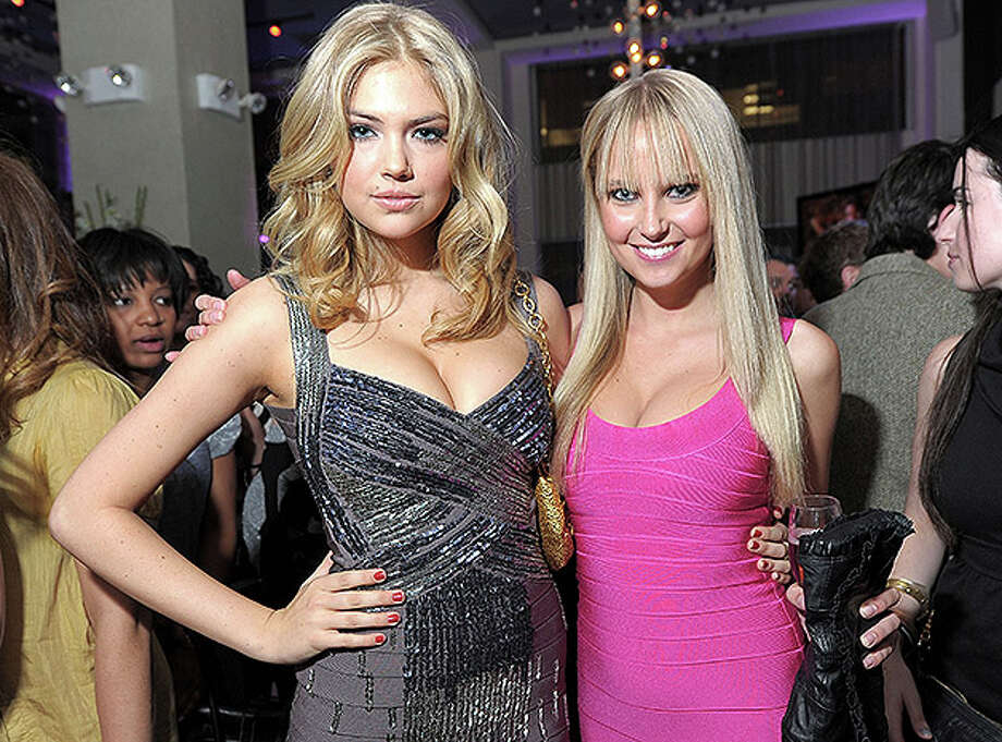 NEW YORK, NY - FEBRUARY 15:  Models Kate Upton and Genevieve Morton attend the SI Swimsuit Launch Party hosted By Pranna at Pranna Restaurant on February 15, 2011 in New York City.  (Photo by Michael Loccisano/Getty Images for Sports Illustrated) *** Local Caption *** Genevieve Morton;Kate Upton Photo: Michael Loccisano, Getty Images For Sports Illustra / 2011 Getty Images