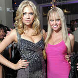 NEW YORK, NY - FEBRUARY 15:  Models Kate Upton and Genevieve Morton attend the SI Swimsuit Launch Party hosted By Pranna at Pranna Restaurant on February 15, 2011 in New York City.  (Photo by Michael Loccisano/Getty Images for Sports Illustrated) *** Local Caption *** Genevieve Morton;Kate Upton