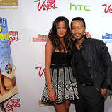 NEW YORK, NY - FEBRUARY 15:  Model Christine Teigen and musician John Legend attend the SI Swimsuit Launch Party hosted By Pranna at Pranna Restaurant on February 15, 2011 in New York City.  (Photo by Michael Loccisano/Getty Images for Sports Illustrated) *** Local Caption *** Christine Teigen;John Legend