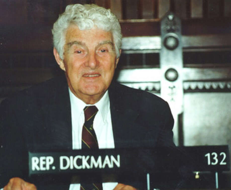 Carl Dickman, former state representative and former selectman Photo: Contributed Photo / Fairfield Citizen