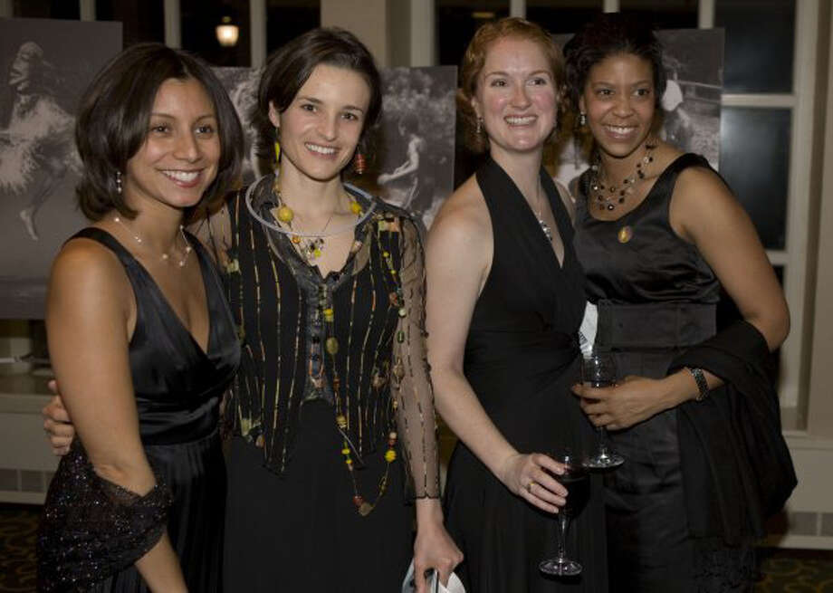 Teachers gather at last year's benefit. Photo: Contributed Photo / New Canaan News