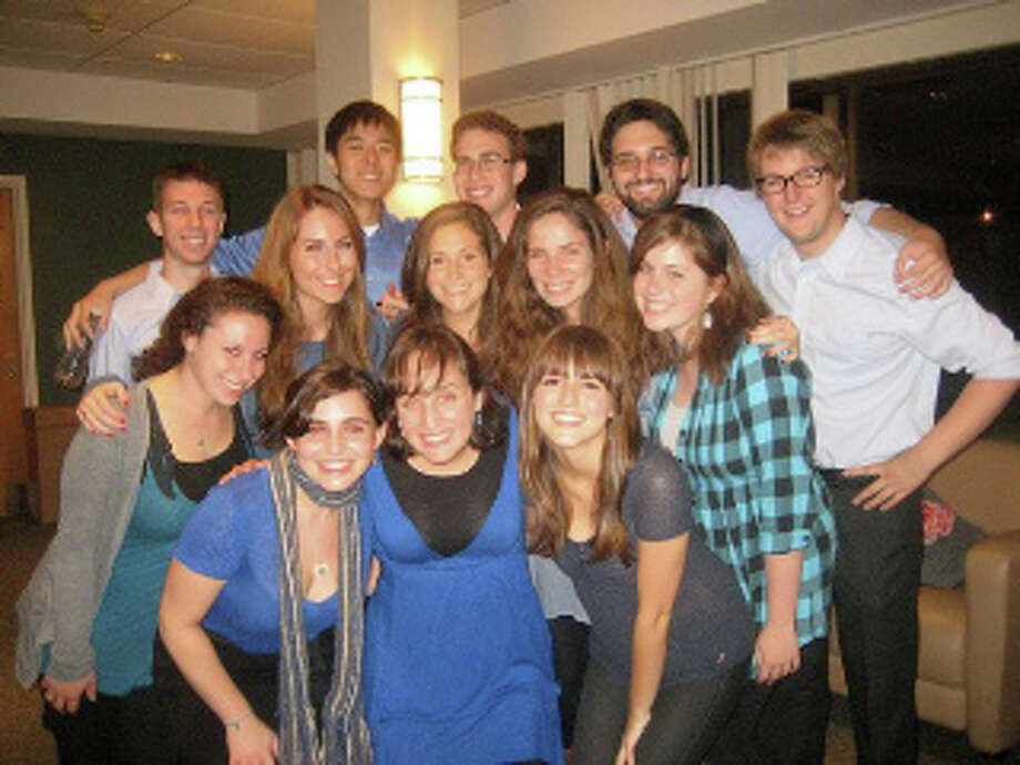 """""""Manginah,"""" an a cappella group from Brandeis University, will perform March 4-5 at the Conservative Synagogue in Westport. Photo: Contributed Photo / Westport News contributed"""