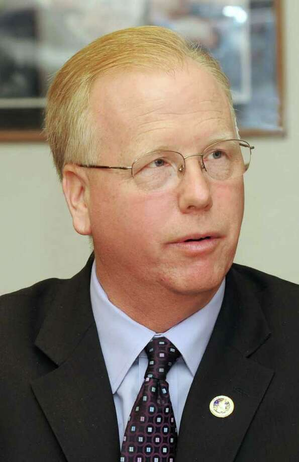 Mayor Mark Boughton of Danbury. Photo: File Photo / The News-Times File Photo