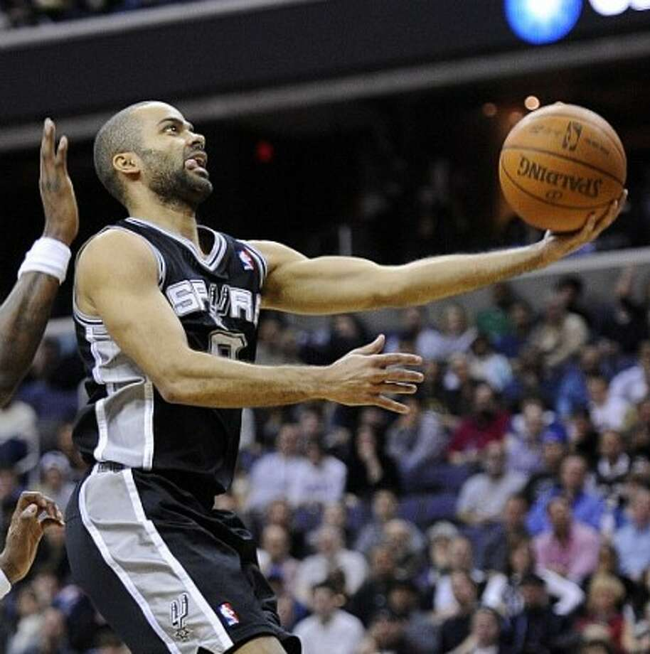 Tony Parker and the Spurs hope to finish the rodeo road trip with a victory. Photo: Nick Wass/Associated Press